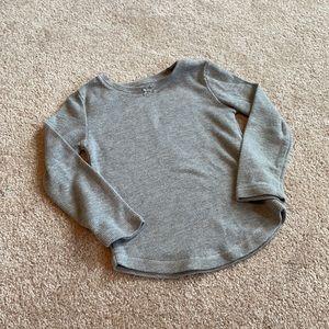 Gray Long Sleeve T-Shirt 4T